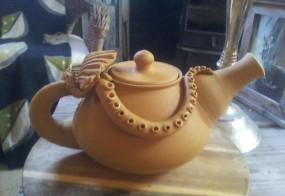 Havsinspirerad thé-kanna